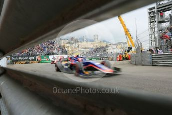 World © Octane Photographic Ltd. FIA Formula 2 (F2) – Monaco GP - Race 1. Sauber Junior Team - Juan Manuel Correa.  Monte-Carlo, Monaco. Friday 24th May 2019.