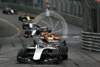 World © Octane Photographic Ltd. FIA Formula 2 (F2) – Monaco GP - Race 1. ART Grand Prix - Nikita Mazepin. Monte-Carlo, Monaco. Friday 24th May 2019.