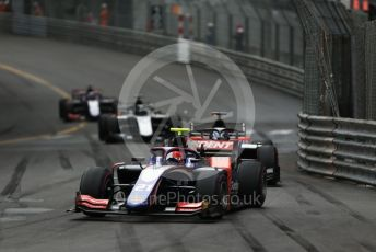 World © Octane Photographic Ltd. FIA Formula 2 (F2) – Monaco GP - Race 1. Trident - Ralph Boschung. Monte-Carlo, Monaco. Friday 24th May 2019.