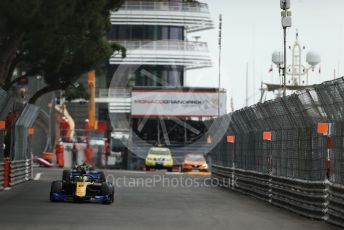 World © Octane Photographic Ltd. FIA Formula 2 (F2) – Monaco GP - Race 1. Virtuosi Racing - Luca Ghiotto. Monte-Carlo, Monaco. Friday 24th May 2019.