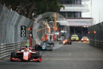 World © Octane Photographic Ltd. FIA Formula 2 (F2) – Monaco GP - Race 1. Prema Racing - Sean Gelael. Monte-Carlo, Monaco. Friday 24th May 2019.