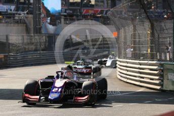 World © Octane Photographic Ltd. FIA Formula 2 (F2) – Monaco GP - Race 2. Trident - Ralph Boschung. Monte-Carlo, Monaco. Saturday 25th May 2019.
