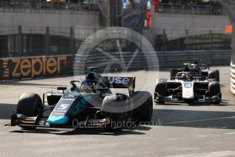 World © Octane Photographic Ltd. FIA Formula 2 (F2) – Monaco GP - Race 2. DAMS - Sergio Sette Camara and ART Grand Prix - Nyck de Vries. Monte-Carlo, Monaco. Saturday 25th May 2019.