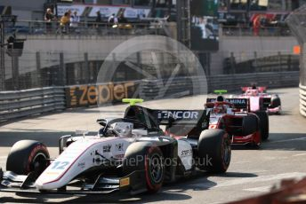 World © Octane Photographic Ltd. FIA Formula 2 (F2) – Monaco GP - Race 2. Sauber Junior Team - Juan Manuel Correa.  Monte-Carlo, Monaco. Saturday 25th May 2019.