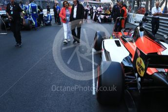 World © Octane Photographic Ltd. FIA Formula 2 (F2) – Monaco GP - Race 2. MP Motorsport – Artem Markelov. Monte-Carlo, Monaco. Saturday 25th May 2019.