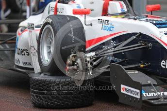 World © Octane Photographic Ltd. Formula Renault Eurocup – Monaco GP - Qualifying. R-ace GP - choice of wets or slicks. Monte-Carlo, Monaco. Friday 24th May 2019