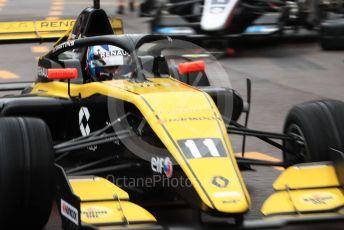 World © Octane Photographic Ltd. Formula Renault Eurocup – Monaco GP - Qualifying. MP Motorsport - Victor Martins. Monte-Carlo, Monaco. Friday 24th May 2019.