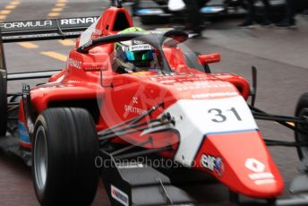 World © Octane Photographic Ltd. Formula Renault Eurocup – Monaco GP - Qualifying. Arden - Patrik Pasma. Monte-Carlo, Monaco. Friday 24th May 2019.