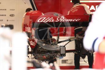 World © Octane Photographic Ltd. Formula 1 – Monaco GP. Pitlane. Alfa Romeo Racing C38. Monte-Carlo, Monaco. Friday 24th May 2019.