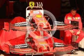 World © Octane Photographic Ltd. Formula 1 – Monaco GP. Pitlane. Scuderia Ferrari SF90 – Sebastian Vettel. Monte-Carlo, Monaco. Saturday 25th May 2019.