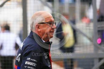 World © Octane Photographic Ltd. Formula 1 – Monaco GP. Paddock. Scuderia Toro Rosso. Monte-Carlo, Monaco. Sunday 26th May 2019.