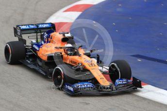 World © Octane Photographic Ltd. Formula 1 – Singapore GP - Practice 1. McLaren MCL34 – Carlos Sainz. Marina Bay Street Circuit, Singapore. Friday 20th September 2019.