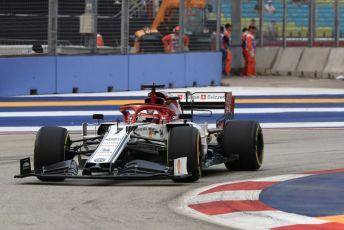 World © Octane Photographic Ltd. Formula 1 – Singapore GP - Practice 1. Alfa Romeo Racing C38 – Kimi Raikkonen. Marina Bay Street Circuit, Singapore. Friday 20th September 2019.