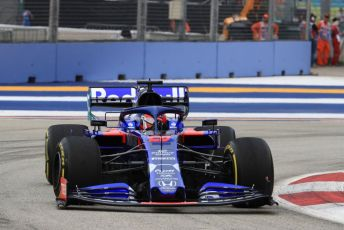 World © Octane Photographic Ltd. Formula 1 – Singapore GP - Practice 1. Scuderia Toro Rosso STR14 – Daniil Kvyat. Marina Bay Street Circuit, Singapore. Friday 20th September 2019.
