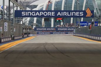 World © Octane Photographic Ltd. Formula 1 – Singapore GP - Practice 1. Start finish Straight. Marina Bay Street Circuit, Singapore. Friday 20th September 2019.