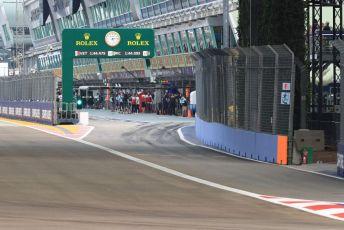 World © Octane Photographic Ltd. Formula 1 – Singapore GP - Practice 1. Pit Lane exit. Marina Bay Street Circuit, Singapore. Friday 20th September 2019.