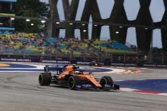 World © Octane Photographic Ltd. Formula 1 – Singapore GP - Practice 1. McLaren MCL34 – Lando Norris. Marina Bay Street Circuit, Singapore. Friday 20th September 2019.