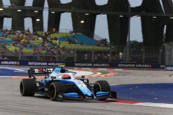 World © Octane Photographic Ltd. Formula 1 – Singapore GP - Practice 1. ROKiT Williams Racing FW42 – Robert Kubica. Marina Bay Street Circuit, Singapore. Friday 20th September 2019.