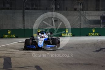 World © Octane Photographic Ltd. Formula 1 – Singapore GP - Practice 2. ROKiT Williams Racing FW 42 – George Russell. Marina Bay Street Circuit, Singapore. Friday 20th September 2019.