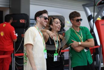 World © Octane Photographic Ltd. Formula 1 – Singapore GP - Practice 3. Guests and Ella Eyre. Marina Bay Street Circuit, Singapore. Saturday 21st September 2019.