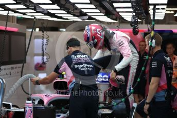 World © Octane Photographic Ltd. Formula 1 – Singapore GP - Practice 3. SportPesa Racing Point RP19 – Lance Stroll. Marina Bay Street Circuit, Singapore. Saturday 21st September 2019.