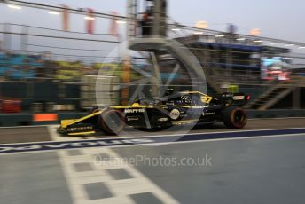 World © Octane Photographic Ltd. Formula 1 – Singapore GP - Practice 3. Renault Sport F1 Team RS19 – Nico Hulkenberg. Marina Bay Street Circuit, Singapore. Saturday 21st September 2019.