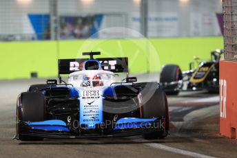 World © Octane Photographic Ltd. Formula 1 – Singapore GP - Qualifying. ROKiT Williams Racing FW 42 – George Russell. Marina Bay Street Circuit, Singapore. Saturday 21st September 2019.
