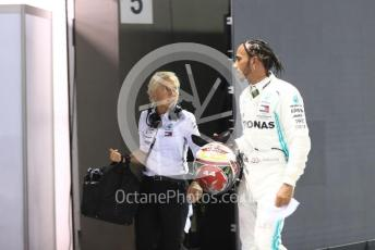 World © Octane Photographic Ltd. Formula 1 – Singapore GP - Qualifying. Mercedes AMG Petronas Motorsport AMG F1 W10 EQ Power+ - Lewis Hamilton. Marina Bay Street Circuit, Singapore. Saturday 21st September 2019.