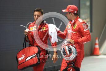 World © Octane Photographic Ltd. Formula 1 – Singapore GP - Qualifying. Scuderia Ferrari SF90 – Charles Leclerc. Marina Bay Street Circuit, Singapore. Saturday 21st September 2019.
