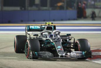 World © Octane Photographic Ltd. Formula 1 – Singapore GP - Race. Mercedes AMG Petronas Motorsport AMG F1 W10 EQ Power+ - Valtteri Bottas. Marina Bay Street Circuit, Singapore. Sunday 22nd September 2019.