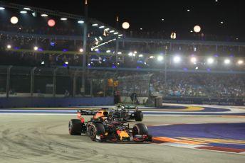 World © Octane Photographic Ltd. Formula 1 – Singapore GP - Race. Aston Martin Red Bull Racing RB15 – Max Verstappen. Marina Bay Street Circuit, Singapore. Sunday 22nd September 2019.