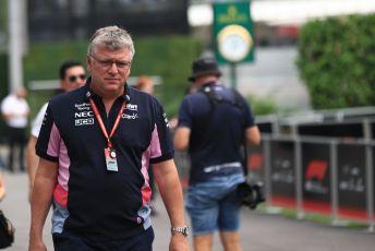 World © Octane Photographic Ltd. Formula 1 - Singapore GP - Paddock. Otmar Szafnauer - Team Principal of SportPesa Racing Point. Marina Bay Street Circuit, Singapore. Friday 20th September 2019.