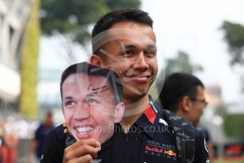 World © Octane Photographic Ltd. Formula 1 – Singapore GP - Paddock. Aston Martin Red Bull Racing RB15 – Alexander Albon. Marina Bay Street Circuit, Singapore. Sunday 22nd September 2019.