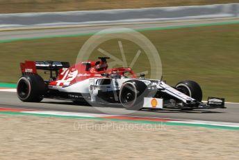 World © Octane Photographic Ltd. Formula 1 – Spanish In-season testing. Alfa Romeo Racing C38 – Callum Ilott. Circuit de Barcelona Catalunya, Spain. Tuesday 14th May 2019.