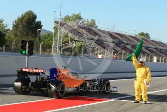 World © Octane Photographic Ltd. Formula 1 – Spanish In-season testing. McLaren MCL34 – Carlos Sainz. Circuit de Barcelona Catalunya, Spain. Tuesday 14th May 2019.