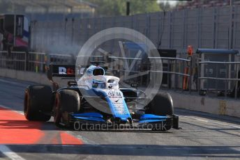 World © Octane Photographic Ltd. Formula 1 – Spanish In-season testing. ROKiT Williams Racing FW42 – Nicholas Latifi Circuit de Barcelona Catalunya, Spain. Wednesday 15th May 2019.