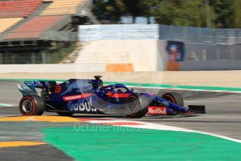 World © Octane Photographic Ltd. Formula 1 – Spanish In-season testing. Scuderia Toro Rosso STR14 – Alex Albon. Circuit de Barcelona Catalunya, Spain. Wednesday 15th 2019.