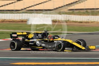 World © Octane Photographic Ltd. Formula 1 – Spanish In-season testing. Renault Sport F1 Team RS19 – Jack Aitken. Circuit de Barcelona Catalunya, Spain. Wednesday 15th May 2019.