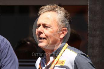World © Octane Photographic Ltd. Formula 1 – Spanish In-season testing. Mario Isola – Pirelli Head of F1 and Car Racing. Circuit de Barcelona Catalunya, Spain. Wednesday 15th May 2019.