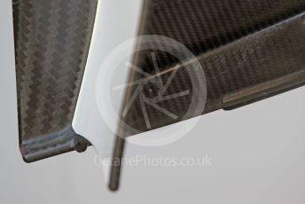 World © Octane Photographic Ltd. Formula 1 – Spanish In-season testing. Alfa Romeo Racing C38 front wing end plate – Kimi Raikkonen. Circuit de Barcelona Catalunya, Spain. Wednesday 15th May 2019.