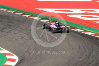World © Octane Photographic Ltd. Formula 1 – Spanish In-season Pirelli testing. SportPesa Racing Point RP19 - Lance Stroll. Circuit de Barcelona Catalunya, Spain. Wednesday 15th May 2019.
