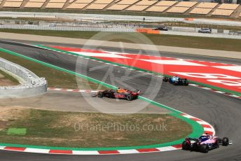 World © Octane Photographic Ltd. Formula 1 – Spanish In-season testing. Aston Martin Red Bull Racing RB15 – Daniel Ticktum stops on circuit. Circuit de Barcelona Catalunya, Spain. Wednesday 15th May 2019.