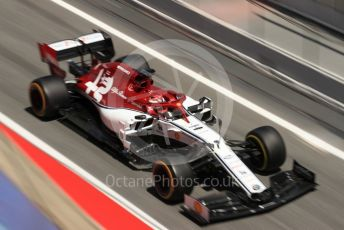 World © Octane Photographic Ltd. Formula 1 – Spanish In-season testing. Alfa Romeo Racing C38 – Kimi Raikkonen. Circuit de Barcelona Catalunya, Spain. Wednesday 15th May 2019.