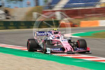 World © Octane Photographic Ltd. Formula 1 – Spanish GP. Practice 1. SportPesa Racing Point RP19 – Lance Stroll. Circuit de Barcelona Catalunya, Spain. Friday 10th May 2019.