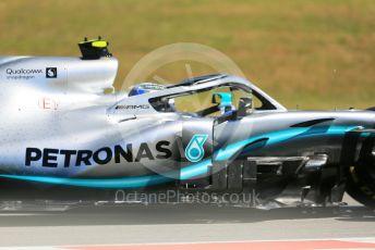 World © Octane Photographic Ltd. Formula 1 – Spanish GP. Practice 1. Mercedes AMG Petronas Motorsport AMG F1 W10 EQ Power+ - Valtteri Bottas. Circuit de Barcelona Catalunya, Spain. Friday 10th May 2019.