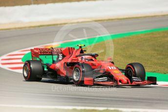 World © Octane Photographic Ltd. Formula 1 – Spanish GP. Practice 1. Scuderia Ferrari SF90 – Charles Leclerc. Circuit de Barcelona Catalunya, Spain. Friday 10th May 2019.