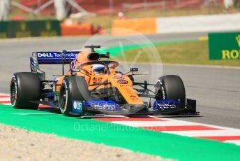 World © Octane Photographic Ltd. Formula 1 – Spanish GP. Practice 1. McLaren MCL34 – Carlos Sainz. Circuit de Barcelona Catalunya, Spain. Friday 10th May 2019.