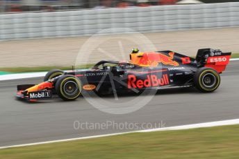 World © Octane Photographic Ltd. Formula 1 – Spanish GP. Practice 2. Aston Martin Red Bull Racing RB15 – Pierre Gasly. Circuit de Barcelona Catalunya, Spain. Friday 10th May 2019.