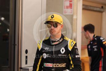 World © Octane Photographic Ltd. Formula 1 – Spanish GP. Parc Ferme. Renault Sport F1 Team RS19 – Nico Hulkenberg. Circuit de Barcelona Catalunya, Spain. Sunday 12th May 2019.