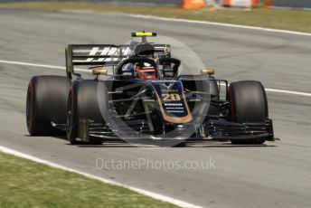 World © Octane Photographic Ltd. Formula 1 – Spanish GP. Race. Rich Energy Haas F1 Team VF19 – Kevin Magnussen. Circuit de Barcelona Catalunya, Spain. Sunday 12th May 2019.